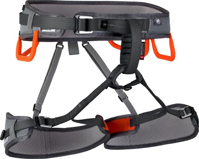 Mammut Ophir Ophir Ophir 3 Slide Harness titanium-dark orange ca8a47